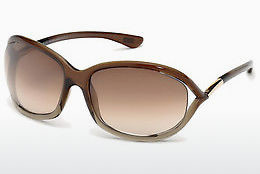 Gafas de visión Tom Ford Jennifer (FT0008 38F) - Bronce
