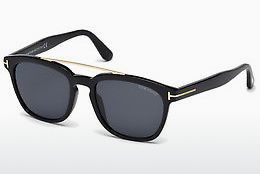 Gafas de visión Tom Ford Holt (FT0516 01A) - Negras, Shiny