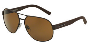 Dolce & Gabbana DG2147 127483 POLAR BROWNBROWN RUBBER