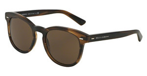 Dolce & Gabbana DG4254 296473 BROWNSTRIPED MATTE TOBACCO