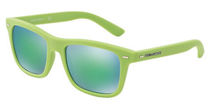 Dolce & Gabbana DG6095 299631 LIGHT BLUE MIRROR GREENACID GREEN RUBBER