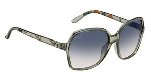 Gucci GG 3632/N/S 2E3/I4 BLUE DS PEACHGRN FLORA (BLUE DS PEACH)