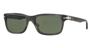 Persol PO3048S 101731 GREENSTRIPPED GREY HAVANA