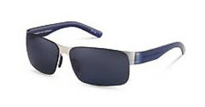 Porsche Design P8573 A palladium, blue / blue mirror