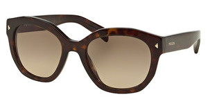 Prada PR 12SS 2AU3D0 LIGHT BROWN GRAD LIGHT GREYHAVANA