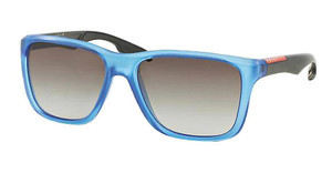 Prada Sport PS 04OS TWY0A7 GREY GRADIENTMATTE BLUE