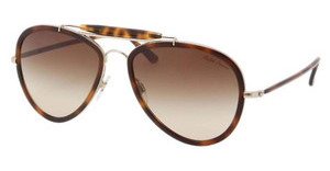 Ralph Lauren RL7038W 91793B BROWN GRADIENTMATTE PALE GOLD/HAVANA