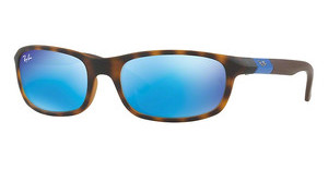 Ray-Ban Junior RJ9056S 702555 FLASH BLUEMATTE HAVANA