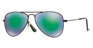 Ray-Ban Junior RJ9506S 201/3R LIGHT GREEN MIRROR GREENMATTE BLACK