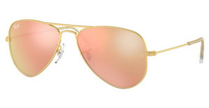 Ray-Ban Junior RJ9506S 249/2Y COPPER FLASHMATTE GOLD