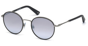 Web Eyewear WE0167 12C grau verspiegeltruthenium dunkel glanz