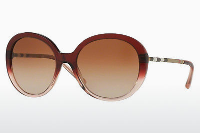Gafas de visión Burberry BE4239Q 355313 - Rojas, Marrones