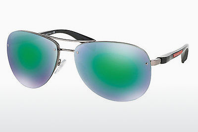 Gafas de visión Prada Sport PS 56MS (65) (PS 56MS 5AS1M2) - Plateadas, Pewter