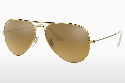 Gafas de visión Ray-Ban AVIATOR LARGE METAL (RB3025 001/3K) - Oro