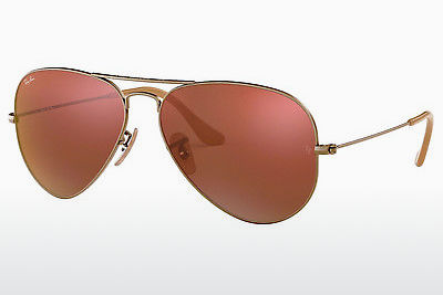 Gafas de visión Ray-Ban AVIATOR LARGE METAL (RB3025 167/2K) - Marrones