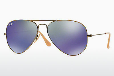 Gafas de visión Ray-Ban AVIATOR LARGE METAL (RB3025 167/68) - Marrones