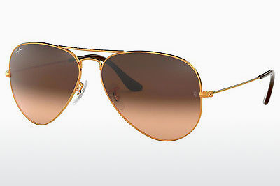 Gafas de visión Ray-Ban AVIATOR LARGE METAL (RB3025 9001A5) - Marrones