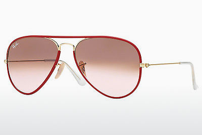 Gafas de visión Ray-Ban AVIATOR FULL COLOR (RB3025JM 001/X3) - Oro, Rojas