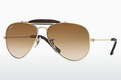 Gafas de visión Ray-Ban AVIATOR CRAFT (RB3422Q 001/51) - Oro