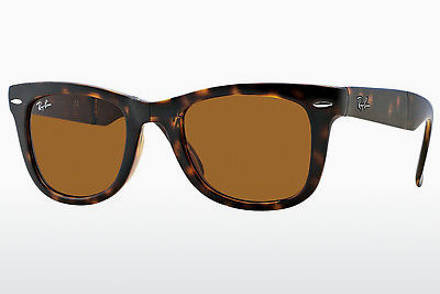 Gafas de visión Ray-Ban FOLDING WAYFARER (RB4105 710) - Marrones, Havanna