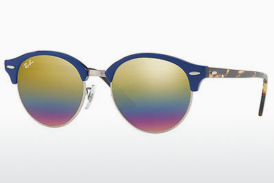 Gafas de visión Ray-Ban CLUBROUND (RB4246 1223C4) - Grises, Marrones