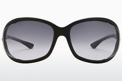 Gafas de visión Tom Ford Jennifer (FT0008 01B) - Negras, Shiny