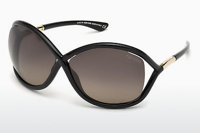 Gafas de visión Tom Ford Whitney (FT0009 01D) - Negras, Shiny