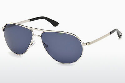 Gafas de visión Tom Ford Marko (FT0144 18V) - Plateadas, Shiny