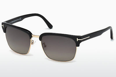 Gafas de visión Tom Ford River (FT0367 01D) - Negras, Shiny