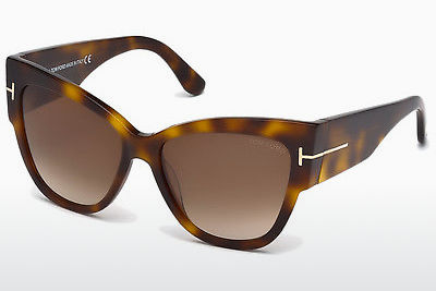 Gafas de visión Tom Ford Anoushka (FT0371 53F) - Marrones, Havanna, Amarillas