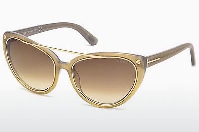 Gafas de visión Tom Ford Edita (FT0384 34F) - Bronce, Bright, Shiny
