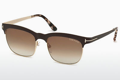 Gafas de visión Tom Ford Elena (FT0437 48F) - Marrones, Dark, Shiny