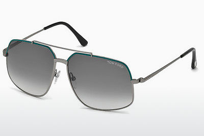 Gafas de visión Tom Ford Ronnie (FT0439 88B) - Azules, Turquoise, Matt