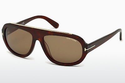 Gafas de visión Tom Ford Hugo (FT0444 54J) - Havanna, Red