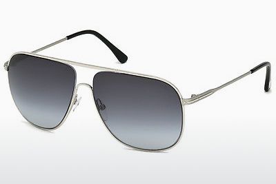 Gafas de visión Tom Ford Dominic (FT0451 16W) - Plateadas, Shiny, Grey