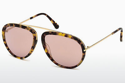 Gafas de visión Tom Ford Stacy (FT0452 53Z) - Havanna, Yellow, Blond, Brown