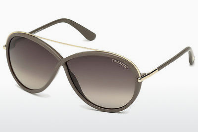 Gafas de visión Tom Ford Tamara (FT0454 59K) - Concha, Beige, Brown