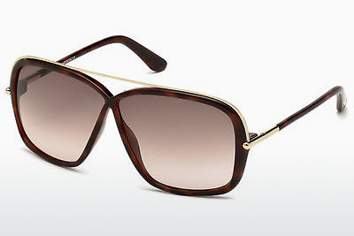 Gafas de visión Tom Ford Brenda (FT0455 52F) - Marrones, Dark, Havana