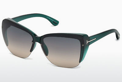 Gafas de visión Tom Ford FT0457 87B - Azules, Turquoise, Shiny