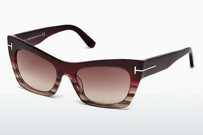 Gafas de visión Tom Ford FT0459 71F - Borgoña, Bordeaux