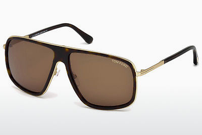 Gafas de visión Tom Ford Quentin (FT0463 52K) - Marrones, Dark, Havana