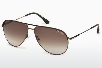 Gafas de visión Tom Ford Erin (FT0466 49E) - Marrones, Matt