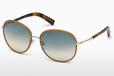 Gafas de visión Tom Ford Georgia (FT0498 60W) - Concha, Horn