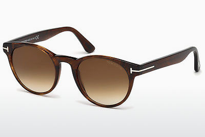 Gafas de visión Tom Ford Palmer (FT0522 48F) - Marrones, Dark, Shiny