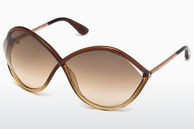 Gafas de visión Tom Ford Liora (FT0528 50F) - Marrones, Dark