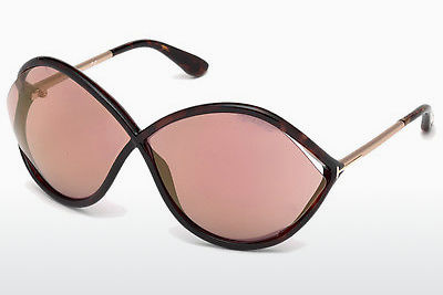 Gafas de visión Tom Ford Liora (FT0528 52Z) - Marrones, Dark, Havana