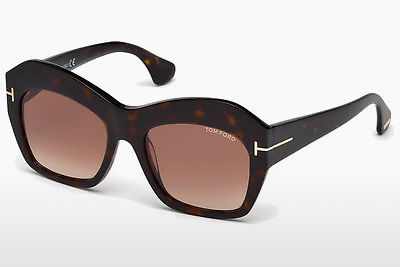 Gafas de visión Tom Ford Emmanuelle (FT0534 52F) - Marrones, Dark, Havana