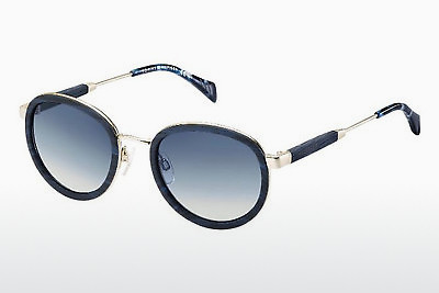 Gafas de visión Tommy Hilfiger TH 1307/S T8D/IT - Azules, Oro