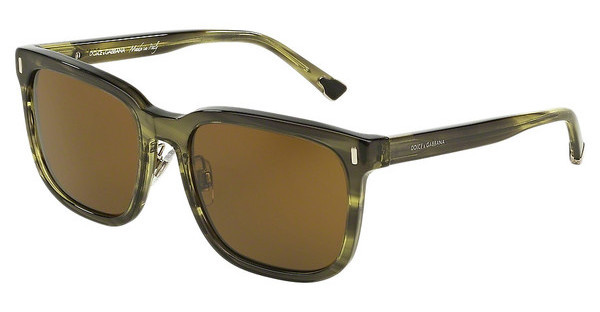 Dolce & Gabbana DG4271 292673 BROWNSTRIPED OLIVE GREEN