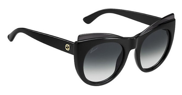 Gucci GG 3781/S D28/9O DARK GREY SFSHN BLACK
